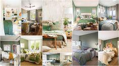 Κρεβατοκάμαρες σε Πράσινες αποχρώσεις Bed, Furniture, Home Decor, Decoration Home, Room Decor, Home Furniture, Interior Design, Beds, Home Interiors