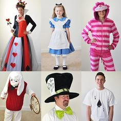 Quick inexpensive and simple diy alice in wonderland costume alice in wonderland costumes for the family alice the queen of hearts the solutioingenieria Image collections