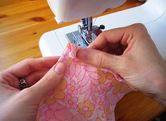 Tutorial: sewing perfect corners