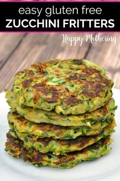 Learn how to make the best gluten free Zucchini Fritters in this easy fried appetizer recipe. Also great as a side dish, these healthy veggie fritters are made with the bounty of zucchini we get from our CSA or garden every summer. Dairy free, paleo and kid friendly too!#zucchinifritters #zucchinirecipes #fritters #fritterrecipes #glutenfree #glutenfreerecipes #sides #sidedishes #appetizers #appetizerrecipes #appetizerideas #zucchini #veggiesides #vegetarian #dairyfree #easyrecipes #howto Gluten Free Zucchini Fritters, Gluten Free Zucchini Recipes, Veggie Fritters, Dairy Free Recipes, Real Food Recipes, Vegetarian Recipes, Keto Recipes, Zucchini Patties, Save On Foods