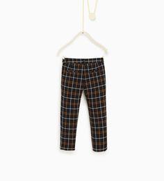 ZARA - KIDS - Check trousers