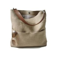 Independent Reign Bucket Tote - Woven Jute