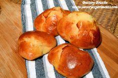 Buttery Brioche Bread Loaves or Rolls