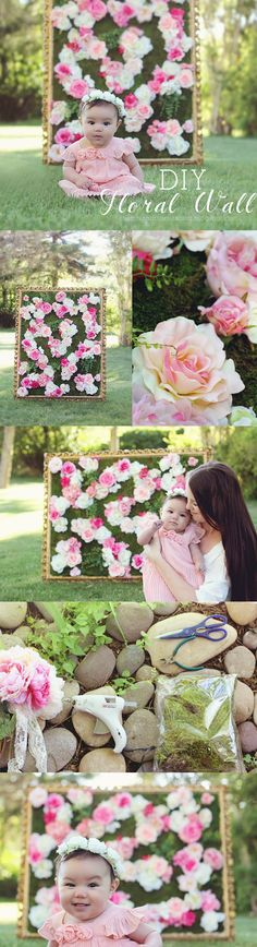 Has anyone else been obsessing over the  beautiful wall of roses   from Kim Kardashians wedding? I know I have! Along with this ||  flo...