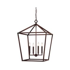 251 First Kenwood Rubbed Bronze Four-Light Lantern Pendant ($200) ❤ liked on Polyvore featuring home, lighting, ceiling lights, bronze ceiling lights, chain lamp, bronze lantern, bronze lighting and chain pendant light
