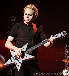 Martin L. Gore of Depeche Mode performing live in Salt Lake City Utah during the Touring the Angel tour. Photography by Abbie Warnock