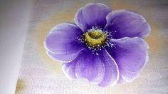 Pintura em tecido, Veja como pintar flor do campo