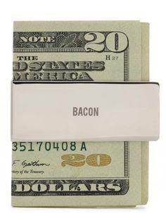 Custom money clip for grandpa...