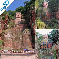 It's the largest stone Buddha in the world and it should be one of your bucket list goals to travel to see it.