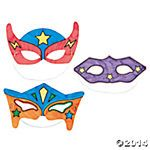 Super Hero Masks - Summer Reading 2015 - SRP 2015 Every Hero Has a Story
