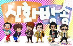 The fashion show episode in cartoon version