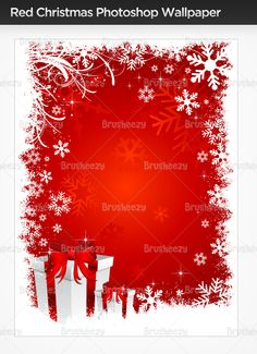 Red Christmas gift wallpaper!