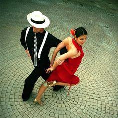 Платье в стиле танцев танго