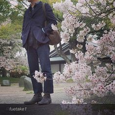 "by @fuetake1 ""#paulharnden #Jeanshop #sakura #さくら"" via @PhotoRepost_app #fashion #beautiful #greatshot #jeanshop #jeans #denim #madeinusa #menswear #wellworn #customer #flowers"