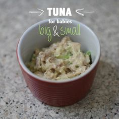 Tuna Casserole for toddlers or comfort food on sick days.  I'm going to sub the pasta w/ quinoa pasta