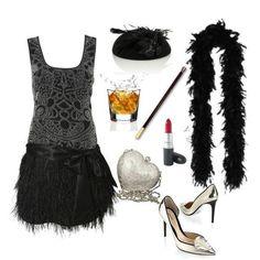 Fun, flirtatious, and fierce outfit for a Roaring theme party Roaring 20s Outfits, Roaring 20s Theme, Roaring 20s Fashion, 1920s Outfits, Roaring Twenties, 1920s Party, Great Gatsby Party, The Great Gatsby, Gatsby Style