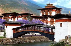 Top 14 tourist attractions in Bhutan including sightseeing, green valleys, snow capped peaks, cold climate and rich heritage of the place. #Travel