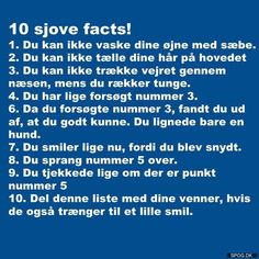 10 sjove facts