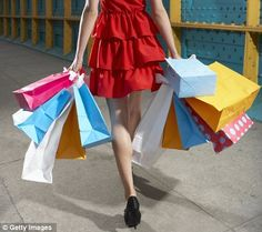 Shopping till we drop: How women spend five years of their lives ...