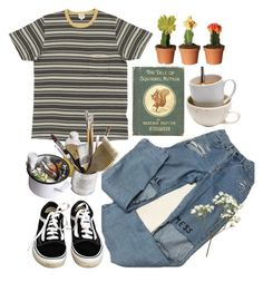 """""""35"""" by ourijimin ❤ liked on Polyvore featuring Vans and Mason's"""