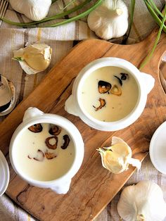 【ELLE gourmet】丸ごとにんにくの冷製ポタージュレシピ エル・オンライン