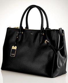 Lauren Ralph Lauren Newbury Double Zip Satchel - Lauren Ralph Lauren -  Handbags  amp  Accessories a825f80429
