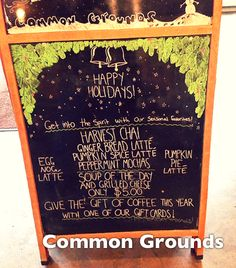 Common Grounds #lodo #coffee #commongrounds
