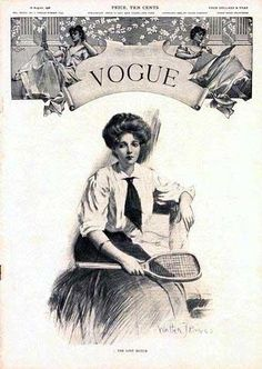 Vogue USA cover  - August 1906