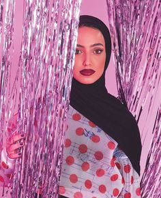 WEBSTA @leenalghouti Pink overdose  For a change, wearing red lipstick from the Be Legendary Liquid Lip range @smashboxcosmeticsme