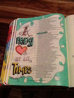 Proverbs Sherrie Bronniman - Art Journaling: In My Bible Scripture Doodle, Scripture Art, Bible Art, Bible Prayers, Bible Scriptures, Bible Quotes, Qoutes, Bible Study Journal, Art Journaling