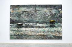 """Anselm Kiefer, """"die Ungeborenen,"""" 2011Exhibition view, """"Die Ungeborenen,"""" at Galerie Thaddaeus Ropac Paris Pantin."""