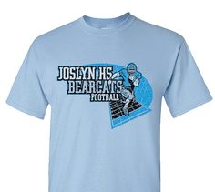 High School Impressions search FB-012-W; Bearcats High School Football T-Shirts- Create your own design for t-shirts, hoodies, sweatshirts. Choose your Text, Ink and Garment Colors. Visit our other boards for other great designs!