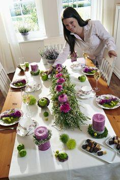 Festlich feiern mit Heide - Heidetrends