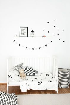 Lovely Market - News - chambre enfant noir et blanc
