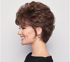 Short Curly Hair, Curly Hair Styles, Natural Hair Styles, Short Hair Over 60, Short Curls, Medium Curly, Loose Curls, Short Hair With Layers, Short Hair Cuts For Women