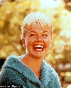 Doris Mary Ann Day - Born April 3rd, 1924. Favorite appearances include Pillow Talk in 1959, Lover Come Back in 1961, and ending with The Thrill of it All and Move Over, Darling in 1963. Upon her husband's death on April 20, 1968, Day learned that he had committed her to a television series, which became The Doris Day Show. She's my grandma's favorite actress and my moms - I guess she'll just have to be one of mine as well.