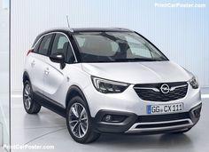 Opel Crossland X 2018 poster, #poster, #mousepad, #tshirt, #printcarposter