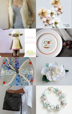 Soft and pale grey by Nathalie on Etsy--Pinned with TreasuryPin.com