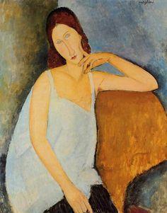 Más tamaños | Amedeo Modigliani - Jeanne Hébuterne [1919] | Flickr: ¡Intercambio de fotos!