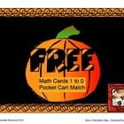Free Pumpkin Themed Math Cards include numbers 1 to 10, ten frames, and number words. These are great for matching games, pocket charts, flash card...