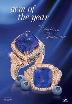 Le Vian gemstone of the year blueberry tanzanite! Marshall Jewelry