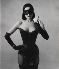 Dita von Teese photographed by Mary Ellen Mark