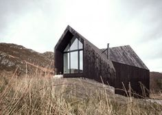 Raw Architecture's Scottish Highlands House has Perfect Views of Mountain Sunrises and Island Sunsets   Inhabitat - Sustainable Design Innov...