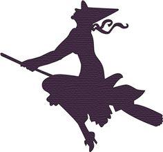 Silhouette Design Store - View Design #13181: witch silhouette