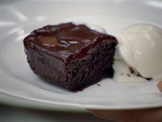 Best Ever Chocolate Brownies recipe from Cookworks via Food Network