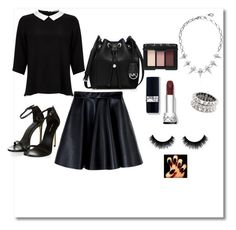 """""""Untitled #199"""" by desiner on Polyvore featuring Majorica, Philippe Audibert, MSGM, MICHAEL Michael Kors, Lipsy and NARS Cosmetics"""