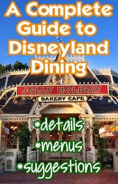 Disneyland restaurants - menus, what to order...awesome and informative! I recently tried a couple places I hadn't before and look forward to trying even more! My go to is always Hungry Bear! :D