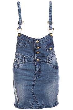 Shop Distressed Blue Strap Dress at ROMWE, discover more fashion styles online. Skirt Leggings, Shorts, Latest Street Fashion, Summer Essentials, Dress P, Distressed Denim, Romwe, Blue Dresses, Womens Fashion