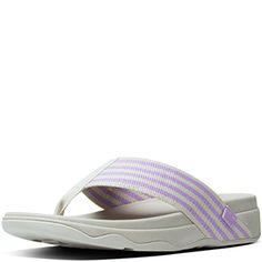 d7fcf42fd41 Dusty Lilac FitFlop Surfa Sandals - Free Shipping Fitflop Sandals