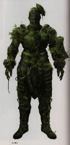 Dark Souls Concept Art - Forest Giant Concept Art